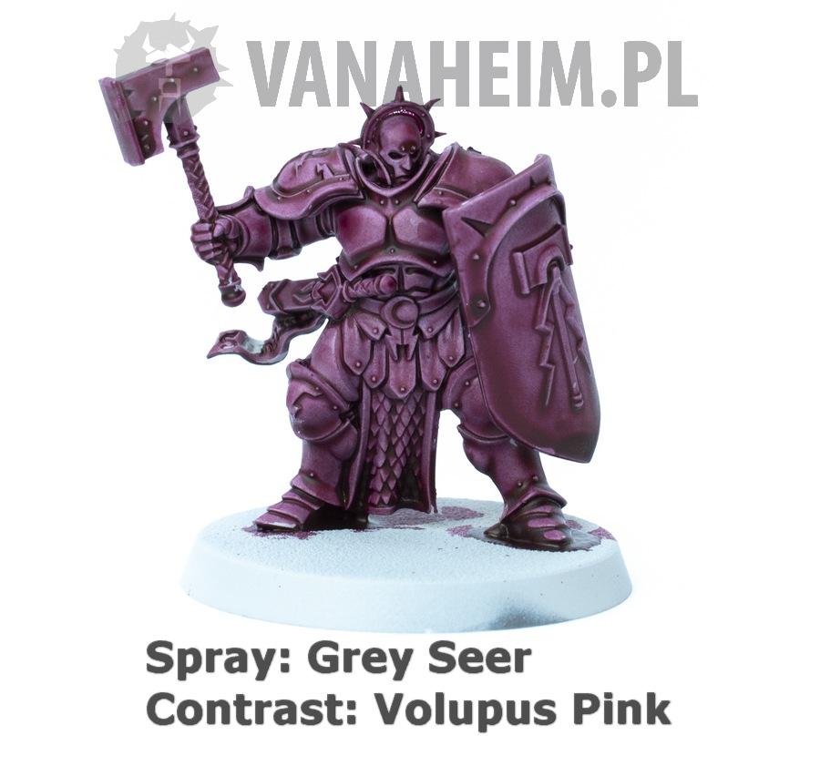Citadel Contrast: Volupus Pink on Grey Seer
