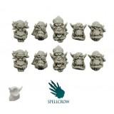 Orkowe głowy piratów i korsarzy (wersja 2)