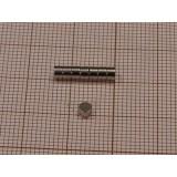 Magnes neodymowy walec 3 x 2 mm