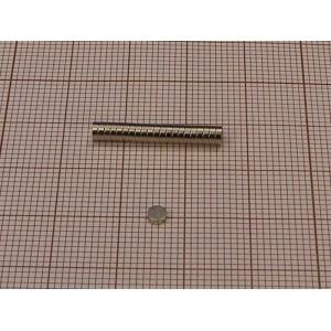 Magnes neodymowy walec 3 X 1 mm