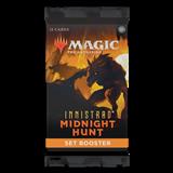 MTG: Innistrad: Midnight Hunt Set Single Booster