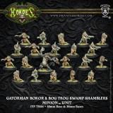 Gatorman Bokor and Bog Trog Swamp Shamblers
