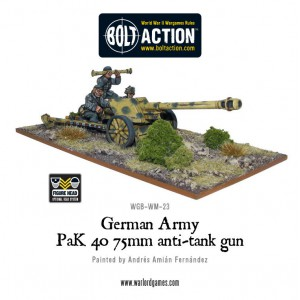 German Army PAK 40 75mm ATG