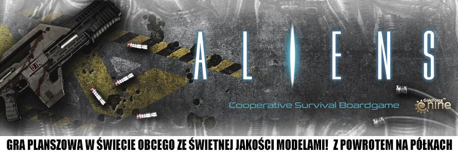 Aliens Board Game, kup w sklepie z grami