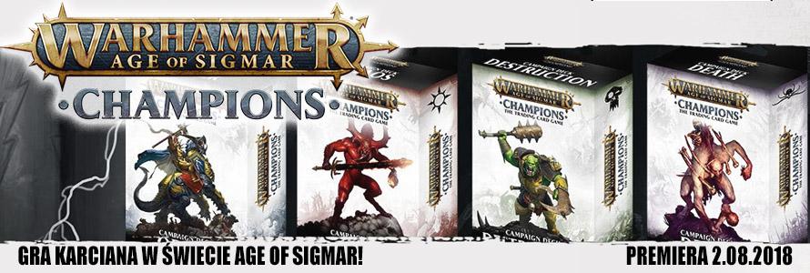 Warhammer Champions Gra Karciana w Sklepie
