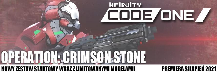 Infinity CodeOne Crimson Stone Zestaw kup w sklepie z grami