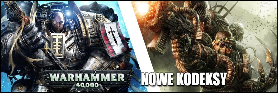 Kodeksy Grey Knight i CSM do Warhammera 40000