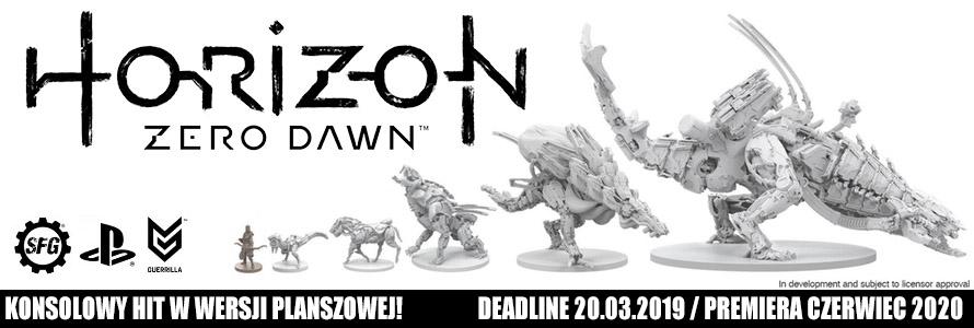 Horizon Zero Dawn Board Game Kickstarter w Sklepie z grami