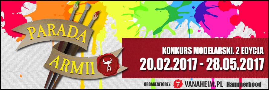 Konkurs Modelarski Parada Armii 2017