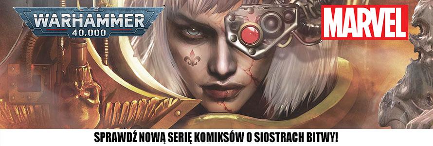 Komiks Sisters of Battle Marvel w sklepie z grami
