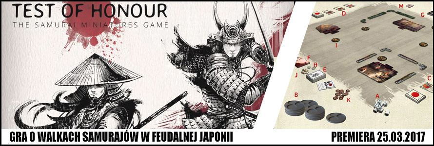 Test of Honour Samurai Game